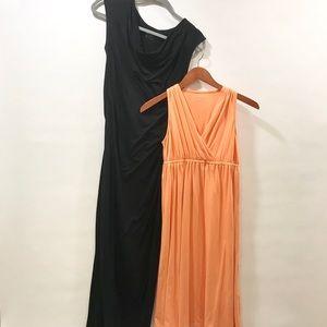 2 Maternity Dresses Merona